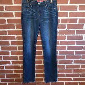 Lucky Brand Sweet N Straight Dark-Wash Denim Jeans